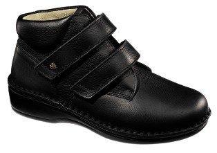 FinnComfort - Prophylaxe Stiefel 96107 mit  Klettverschluss schwarz