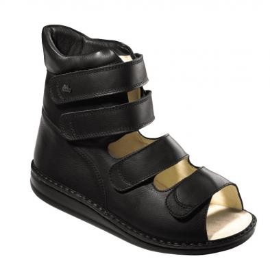 FinnComfort - Prophylaxe Sandale  96202 SponaRind Schwarz
