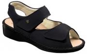 FinnComfort - Prophylaxe  Sandale 96401 NappaSeda Schwarz