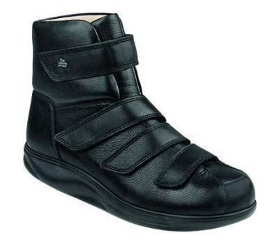 FinnComfort - Prophylaxe Stiefel mit Klettverschluss 97304 schwarz