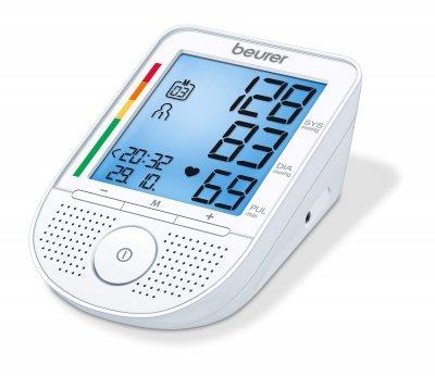 Beurer sprechendes Blutdruckmessgerät Oberarm BM 49