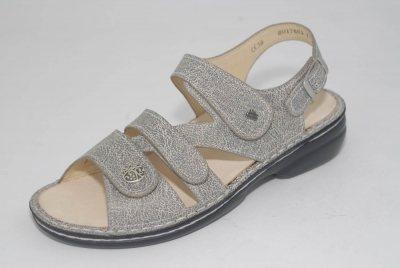 FinnComfort Damen-Sandale  GOMERA mud