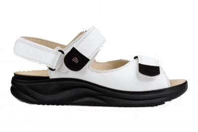 Finnamic Sandale Naxos  Weiß/Schwarz