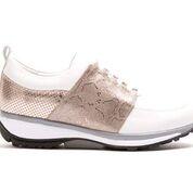 Xsensible stretchwalker Damen Halbschuh - NICE white/malibu gold