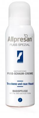 Allpresan Fuß-Schaum-Creme für trockene Haut und Nägel 125 ml - 2