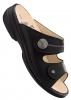 FinnComfort Sandale  Calvia schwarz nubuk