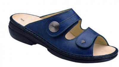 FinnComfort Sandale  Sansibar Blau