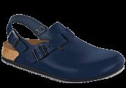 Birkenstock Professional TOKIO SL Naturleder - Blau, Superlaufsohle