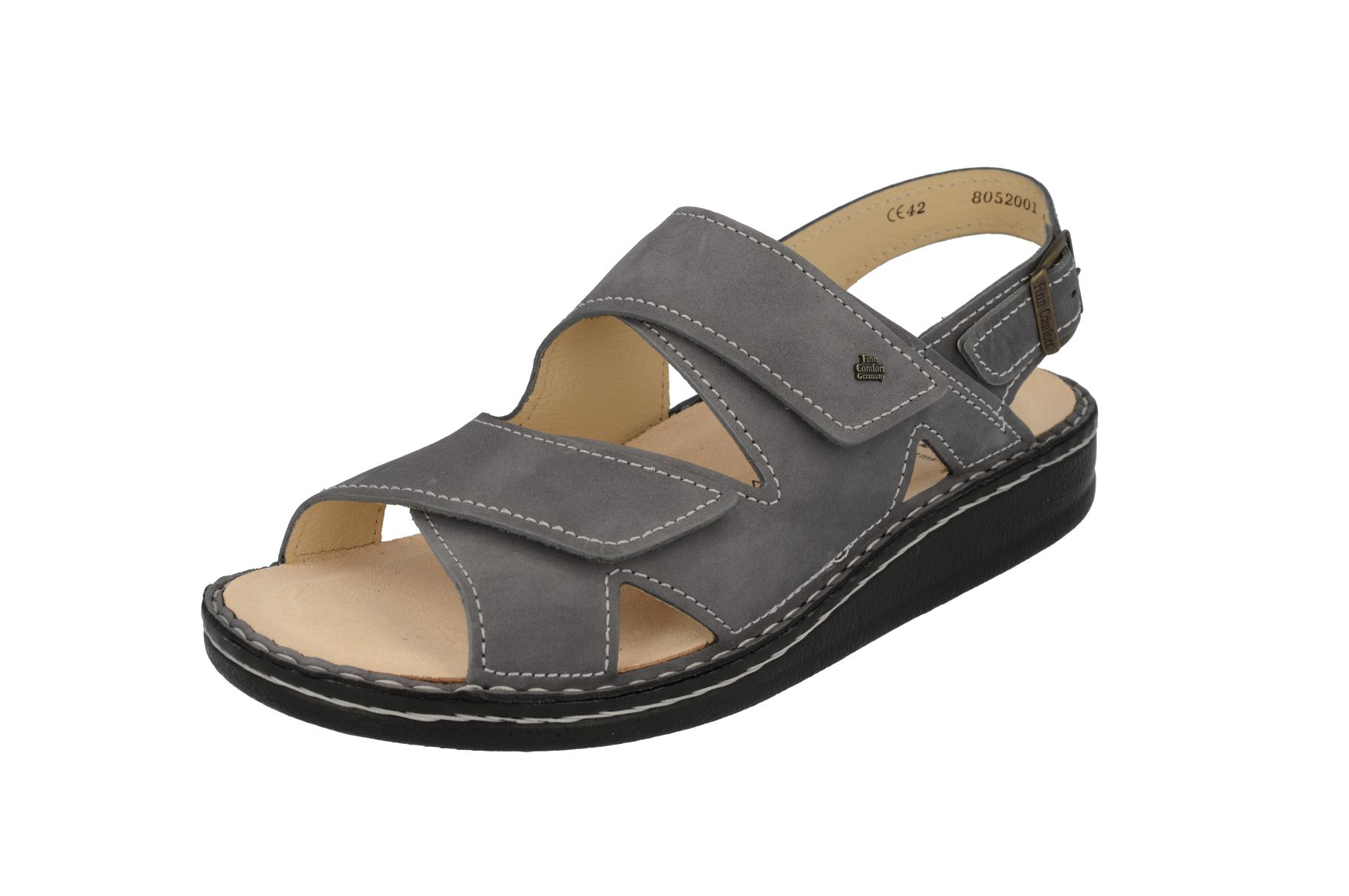 FinnComfort Sandale  Toro-Soft Grey