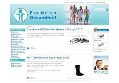 Neues Shopdesign ab 01.11.2011