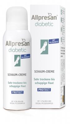 Allpresan Diabetic Protect mit Pilzschutz