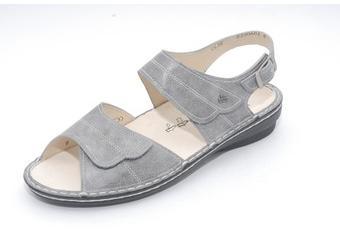 FinnComfort Damen-Sandale BARCA grey