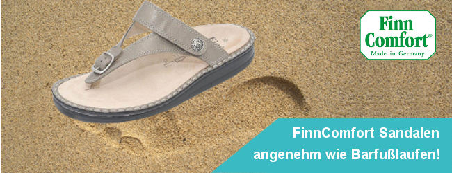 FinnComfort Sandalen - angenehm wie Barfußlaufen