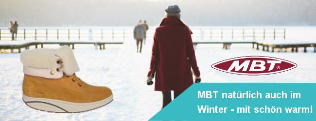MBT Schuhe auch für´n Winter - natürlich in schön warm!