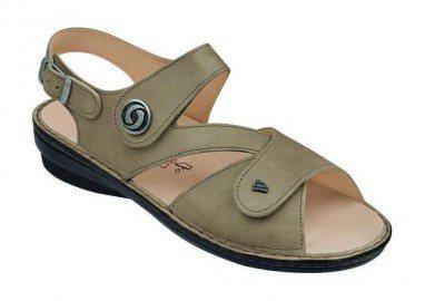 FinnComfort Damen Sandale Lombok taupe