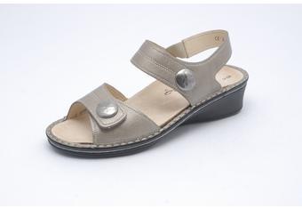 FinnComfort Damen-Sandale  Alanya fango
