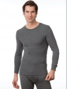 Medima Classic Herren-Hemd 1/1 Arm Angora/Baumwolle schwarz