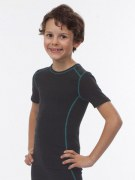 "Medima Classic  Kinder-Hemd 1/4 Arm unisex little ""m"" asphalt"