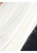 Medima Classic ThermoAS Schal mit 40 % Angora, weiß