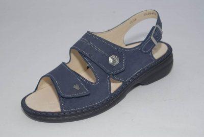 FinnComfort Damen-Sandale  MILOS atlantic