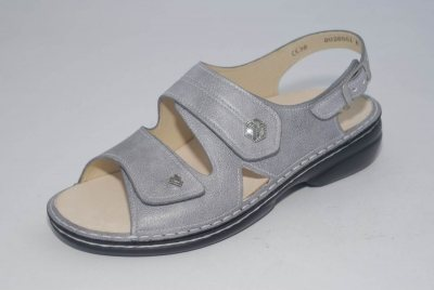 FinnComfort Damen-Sandale  MILOS stone