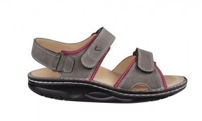 Finnamic Sandale  Yuma  grey/sandia
